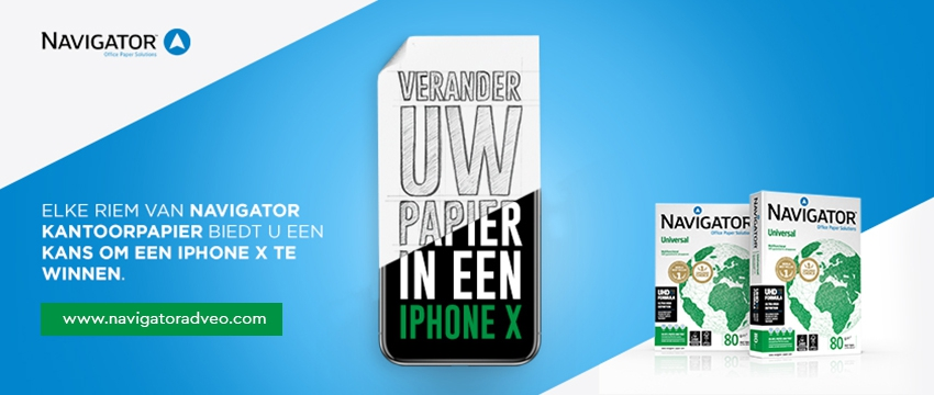 Win een iPhone X!