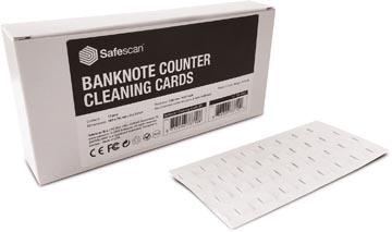 Safescan cleaning cards voor biljettellers