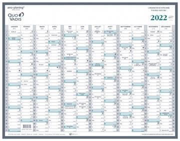 Quo Vadis kalender Manager, 2022
