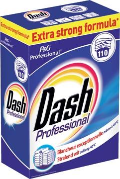 Dash waspoeder Pro Regular, voor witte was, 110 wasbeurten