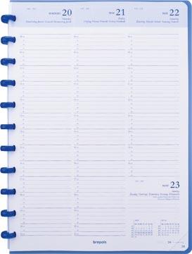 Atoma agenda ft A4, wit papier, 128 pagina's 2022