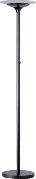 Unilux LED vloerlamp Variaglas, zwart
