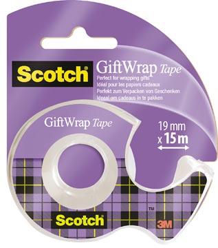 Scotch Gift Wrap tape ft 19 mm x 15 m, op blister
