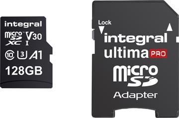 Integral microSDXC geheugenkaart, 128 GB