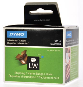 Dymo etiketten LabelWriter ft 101 x 54 mm, wit, 220 etiketten