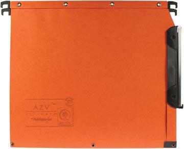 L'oblique hangmappen voor kasten AZV bodem 15 mm, oranje