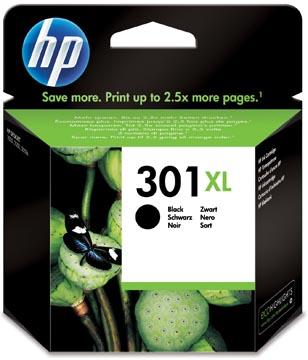 HP inktcartridge 301XL, 480 pagina's, OEM CH563EE, zwart