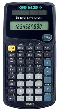 Texas wetenschappelijke rekenmachine TI-30 ECO RS