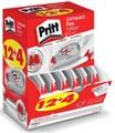 Pritt correctieroller Compact Flex 4,2 mm x 10 m, doos 12 + 4 gratis